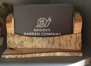 Christmas Fair Stall - The Groovy Garden Company logo