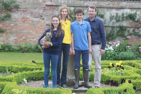 The Brackenbury Family at Holme Pierrepont Hall