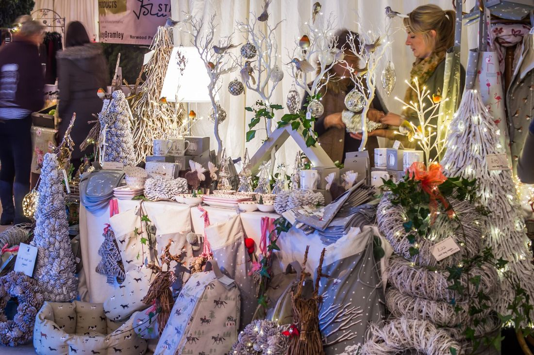 Christmas Decorations Stall