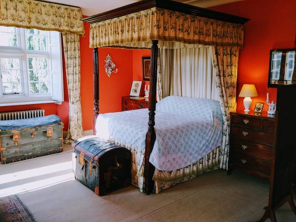 The Four Poster Bed in The Victorian Bedroom