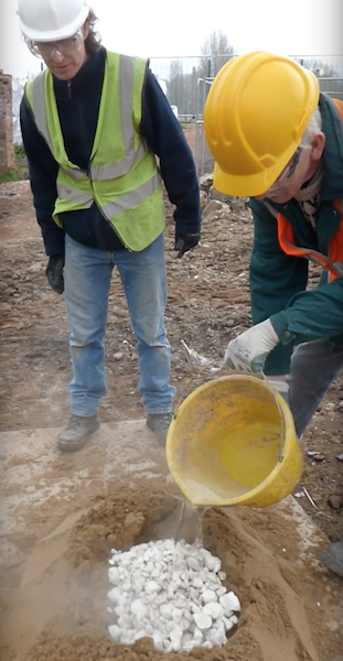 Lime Mortar Mixing Workshop