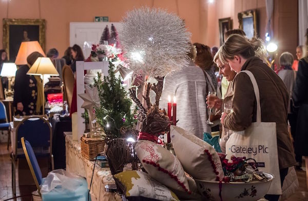 Long Gallery Christmas Fair Stalls